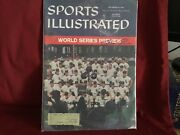 Billy Pierce Signed 1959 Sports Illustrated/ World Series Preview Issue