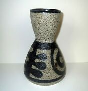 Fine Mid Century ABSTRACT ART POTTERY VASE - STUDIO SIGNED