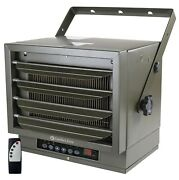 Comfort Zone Industrial Ceiling Mount Heater + Remote 7500 Watts 240v Electric