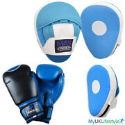 Boxing Gloves Focus Pads Set Hook And Jab Sparring Training Punch Bag Set Mitts