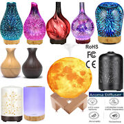 Usa Essential Oil Ultrasonic Aroma Aromatherapy Diffuser Air Humidifier Purifier