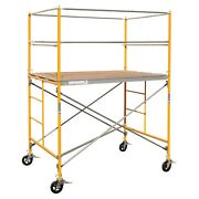 6and039 Scaffold Multipurpose Pro-series Scaffolding Platform To Clean Paint Ceiling