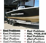 Custom Boat Name Decal Stickers Boat Decal