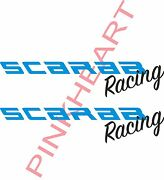 2- Scarab Racing Decals Vinyl Sticker 2- 32and039and039 X 7and039and039 Scarab Boat Boats Decal Usa
