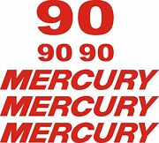 Mercury Outboard Decal Kit 90 Hp Decal Stickers Sticker Graphics Force