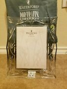 Waterford Crystal Bamboo Pattern 5x7 Photo Frame