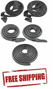 67 Camaro Weatherstrip Door Roof Trunk Seal Kit Rubber In Stock Ready 2 Ship New