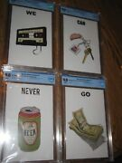We Can Never Go Home Nycc 2015 Rosenberg 1-4 50 Made Black Mask Comic Cbcs 9.8