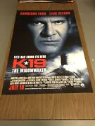 K-19 Widow Maker - 27x40 Ds Original Theatre-used Movie Poster Harrison Ford