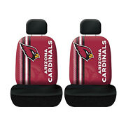 New Football Arizona Cardinals Seat Covers Universal For Cars Suvs - 4 Pc