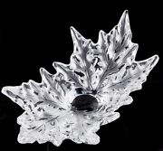 Lalique Champs Elysees Crystal Bowl Clear Color Retails For 3500 Great Deal