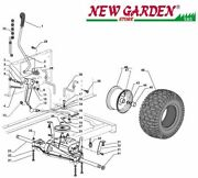 Transmission Exploded View Mower Sd98 Xd140 Castelgarden 2002-2013 Parts