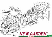 Exploded Body Parts 48in Xx185hd Mower Lawn Mower Castelgarden Parts