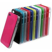 Glossy Shiny Hard Back Case Plastic Cover For Iphone 4 4s