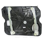 Power Window Motor And Regulator Front Right For 09-12 Ram 1500 Crew/extended Cab