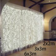 Led Christmas Light Outdoor Indoor Home Decoration Xmas Decor Garland String New