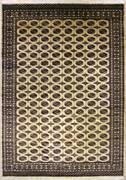 Rugstc 9x12 Bokhara Jaldar Ivory Area Ruggenuine Hand-knotted Wool Pile