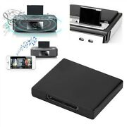 Bluetooth Music Receiver Wireless Adaptor For Ipod Iphone Pin Dock Speaker New