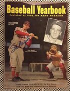 1952 True Baseball Yearbook – Stan Musial Cover Signed Magazine