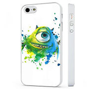 Monsters Inc Sully Art White Phone Case Cover Fits Iphone 4 5 6 7