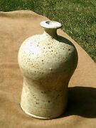 Studio - Art Pottery -  Signed - William Brown ? - Weed Pot Vase -