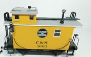 Lgb G Scale New Cands Colorado Southern Caboose In Window Box 43650