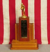 Vintage 1957 Dickinson College Basketball Trophy 'd' Club Mvp Ray Weaver 13tall