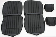 New Jaguar Xke E-type S2 Leather Seat Cover With Headrest Original Specification