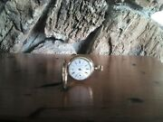 Vintage Worcester Pocket Watch With Gold Illinois Watch Case Co. Elgin...