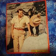 1956 Built-rite Jungle Jim Johnny Weissmullerframe Tray Puzzle Vintage