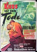 A Kiss Before Dying German Movie Poster A1 Kuss Vor Dem Tode Robert Wagner Leith