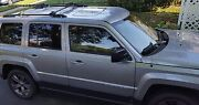 Car Suv Roof Top Rack 6 Fishing Rod Carrier / Holder Crossbars Not Included