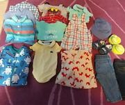 0-3 Months Baby Clothes Bundle, Various Brands Janie And Jack