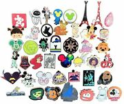 Disney Pin Trading 30 Assorted Pin Lot - Brand New Pins - No Doubles - Tradable