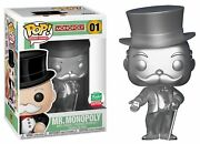 Funko Pop Board Games Silver Mr. Monopoly 01 Shop Exclusive 12 Days Christmas