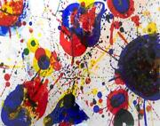 Sam Francis Untitled From One Cent Life  Make Offer Ddsba