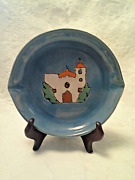 Vintage Antique San Jose Mission Ceramic Pottery Western  Ashtray