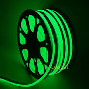 1and039 - 330and039 110v Green Led Neon Flexible Commercial Rope Light Strip String Decor