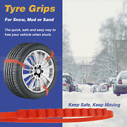 Car Snow Grip Emergency Traction Help Support Ice Aid Mud Sand Wheel Tire