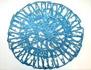 100 Pack Holley 4150 4160 4500 Carb Metering Block Blue Gaskets Non Stick Free S