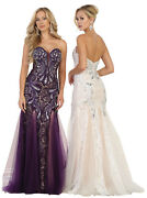 Sale Prom Special Occasion Formal Gala Gown Red Carpet Evening Pageant Dresses
