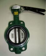 Centerline 56 Butterfly Valve Lug Pipe Size 4 In Ductile Iron Buna Seat.new