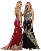 Sale Prom Queen Evening Gown Formal Pageant Dresses Special Occasion Red Carpet