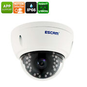 Full-hd Security Camera 4mp Cmos Ip66 Waterproof Motion Detection Night Vision