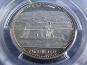 Morocco Prussia Gunboat Panther 1911 Silver Medal Pcgs Sp63 Secretary / Ship