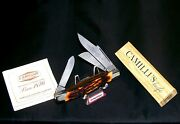 Camillus 89 Sword Brand Knife 1973 Usa Indian Stag Premium Stockman W/packaging