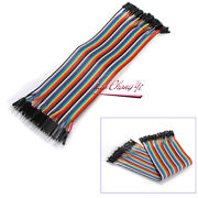 Dupont Jumper 40pin 20cm Cable Male To Female Ribbon Wire Cord 1p-1p Connector