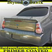 2000-2007 Chevy Monte Carlo Pacecar Factory Style Spoiler Lip Wing Primer