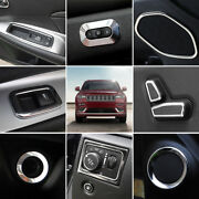 For Jeep Grand Cherokee 2011-2018 Interior Accessories Whole Kit Cover Trim 18pc