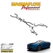 Magnaflow 2.5 Cat Back Dual Exhaust System 2011-2013 Chevy Camaro Ss 6.2 15094